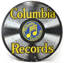 Columbia Records Porcelain Sign