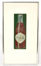 1907 Coca-Cola Tin litho sign