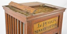 JP Coats Spool Cotton Cabinet