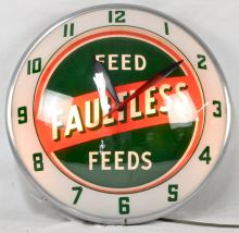 Faultless Feed Double-Bubble Clock