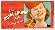 Royal Crown Cola Cardboard Poster