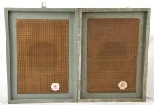Pair Wurlitzer Model 5116 Corner Speakers