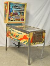 D. Gottlieb and Co. Fast Draw Pinball Machine