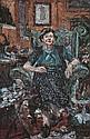 NICHOLAS HARDING born 1956 Portrait of Margaret