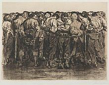 KATHE KOLLWITZ (1867-1945, German) Die Gefangenen (The Prisoners)