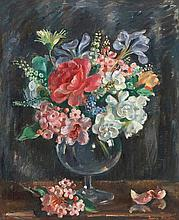 NORA HEYSEN (1911-2003) Flowers in Glass c1948