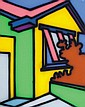 HOWARD ARKLEY, (1951-1999), The Yellow Green House,