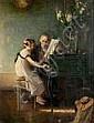 Jules-Alexis MUENIER (1863-1942) - La leçon de