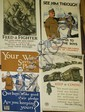 4 WWI posters