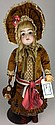 Kestner 129 bisque doll- mkd J made in Germany