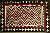ca. 1910 Navajo child's blanket- hand woven wool,