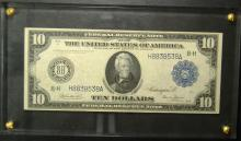 1914 Large Size $10.00 FRN