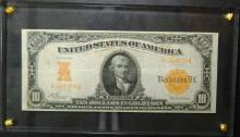 1907 Large Size $10.00 Gold Certificate