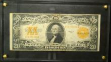 1922 Large Size $20.00 Gold Certificate