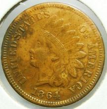 1864 L Indian Head Cent