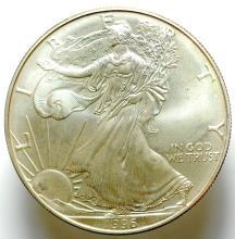 1996 Silver American Eagle