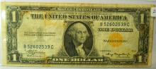 1935 $1.00 WWII North African Silver Certificate