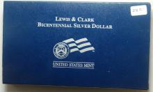2004 Lewis & Clark Proof Silver Commem