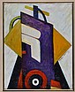 Marsden Hartley Oil Painting on Canvas