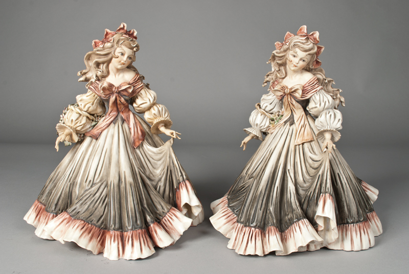 Pr. Tiziano Galli Porcelain Figurines