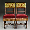 (PR) Continental or American Carved Side Chairs