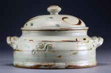 John Glick Pottery Covered Dish