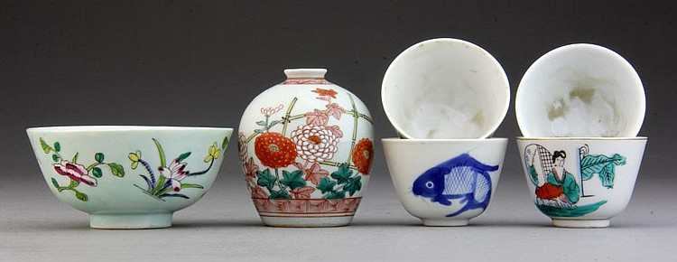 (6) Pcs. Chinese Porcelain