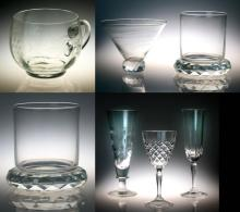 (50) Pcs Clear Glass Drinkware, Inc. Waterford
