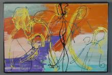 Dorothy Gross Acrylic Painting on Canvas