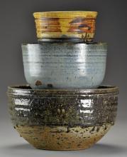 (3) American Art Pottery Bowls