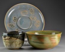 (3) Pcs American Art Pottery