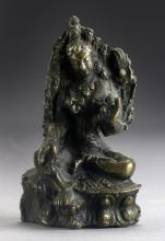 A South East Asian Bronze Deity