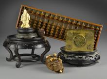 (9) Pcs. Chinese & Japanese Decorative Arts Inc. Ivory