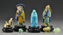 (11) Pcs Chinese and Japanese Decorative Arts