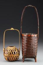 (2) Asian Baskets