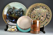 (5) Pcs Assorted Art Pottery