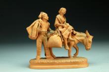 Grasso Italian Redware Figurine