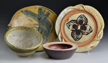 (4) Pcs American Art Pottery