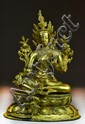 Fine Chinese Gilt Bronze Seated Figure
