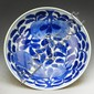Chinese Blue & White Porcelain Saucer