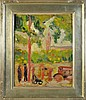 Georges Braque Oil Painting on Heavy Paper