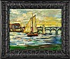 Manner of Maurice Vlaminck Oil Painting on Canvas