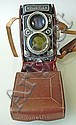 VINTAGE ROLLEIFLE CAMERA 2.8.D Xenotar Model