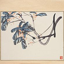 Attr. to Qi Baishi (1864-1957, Chinese), scroll painting