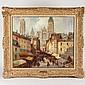 Merio Ameglio (1897-1970, Italian), painting