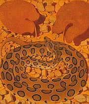 Simon BUSSY (Dôle 1870 - Londres 1954) La vipère