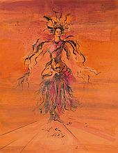 Eugene Berman (San Pietroburgo 1899 - Roma 1972) Figurino teatrale, 1946