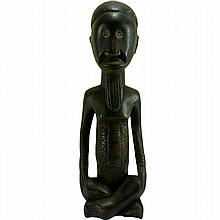 Congo Seated male figure