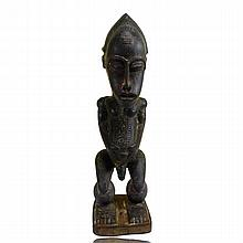 Baule Standing Male Figure