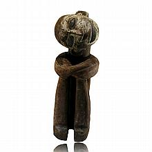 Kongo Seated Male Figure